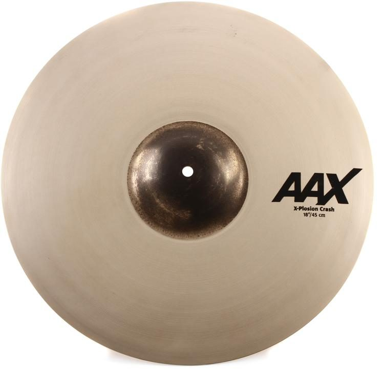 18in, Brilliant Sabian AAX X-Plosion Fast Crash
