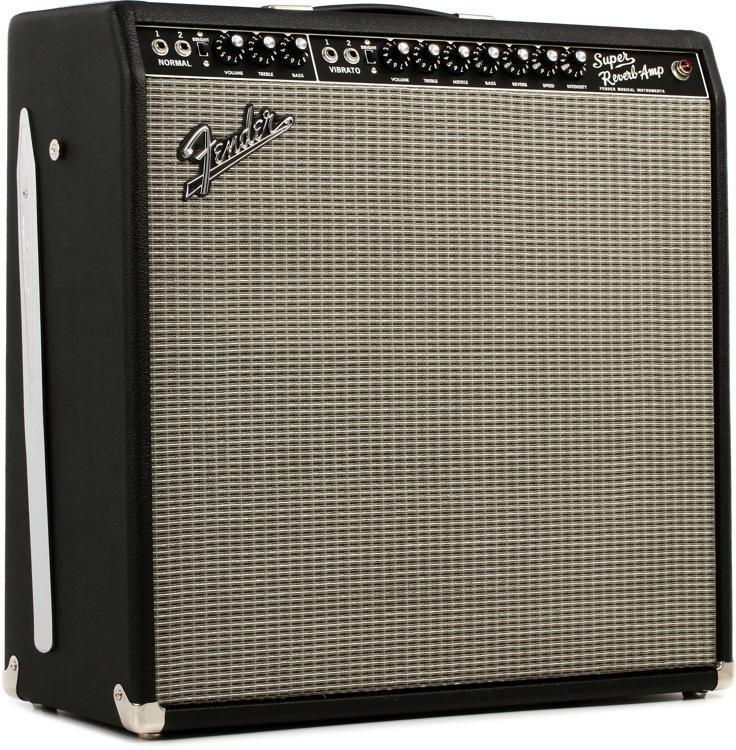 Fender 65 Super Reverb 45 Watt 4x10 Tube Combo Amp