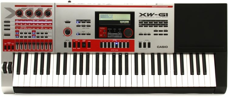 CASIO XW-G1 SYNTHESIZER DRIVERS DOWNLOAD FREE