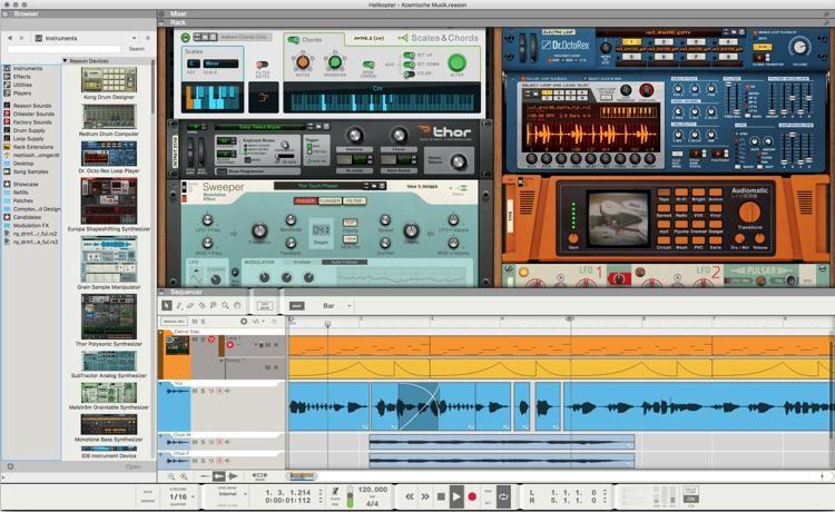 Propellerhead Reason 10 free. download full Version Mac