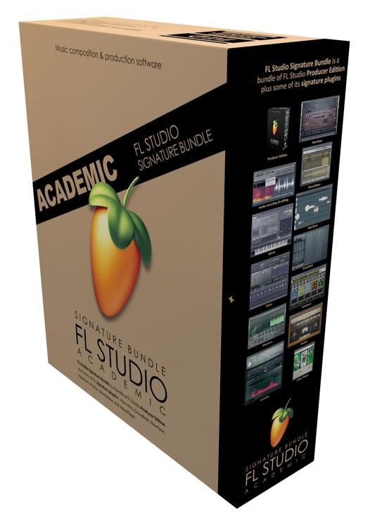 FL Studio 20 Signature Edition Academic Version