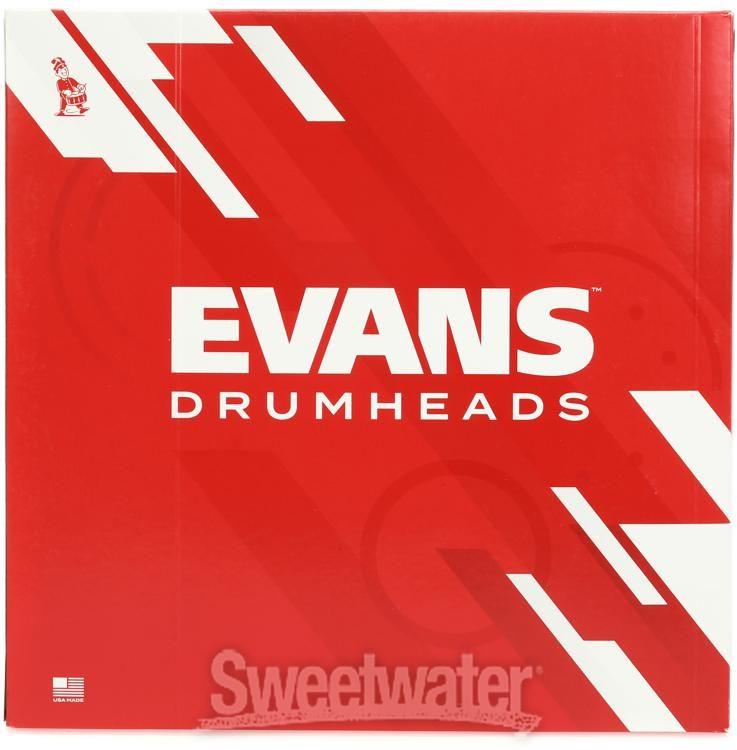 "8/"" Evans Genera G1 Coated 1-Ply Batter Drum Head"