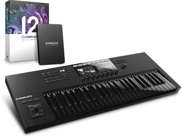 7702de50b08 Native Instruments Komplete Kontrol S49 MK2 with Komplete 12 Ultimate -  Limited Edition Black
