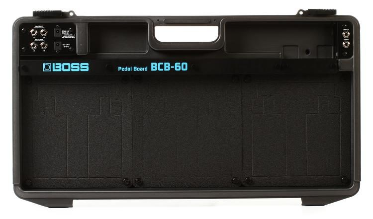 BCB-60 Deluxe Pedal Board and Case