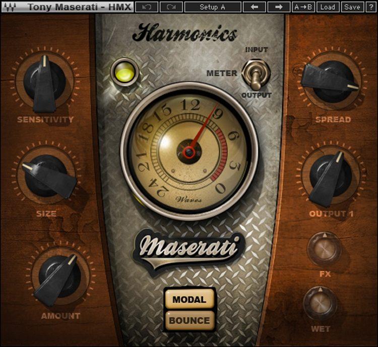Waves Maserati HMX Harmonics Generator Plug-in | Sweeer