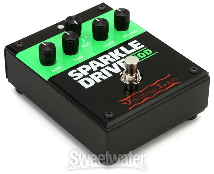 VOODOO LAB SPARKLE DRIVE MOD GUITAR OVERDRIVE PEDAL WITH CLEAN BLEND BRAND NEW