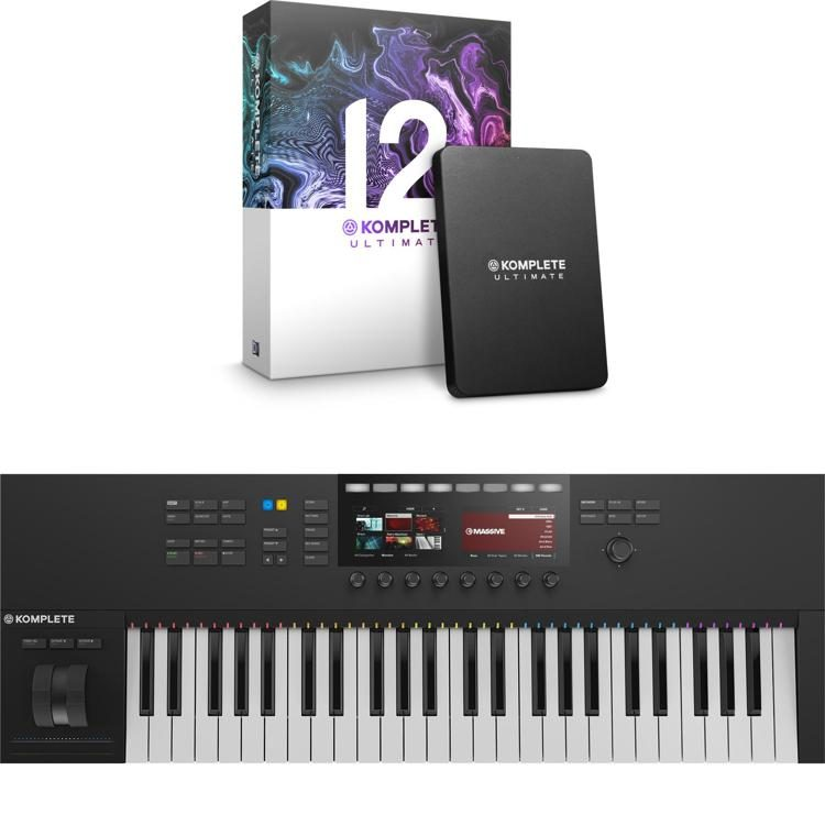 Komplete Kontrol S49 MK2 with Komplete 12 Ultimate