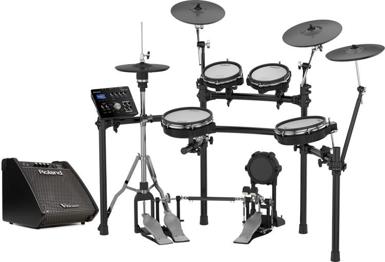Roland V Drums Td 25kv Electronic Drum Set With Pm100 Monitor