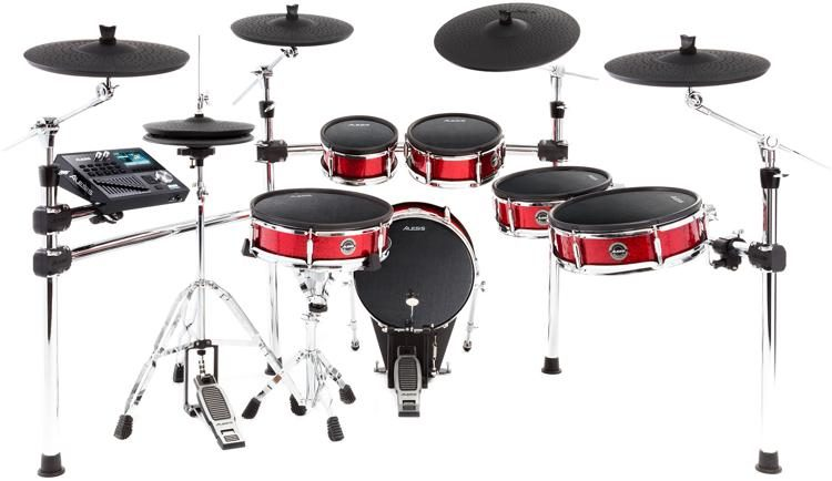 alesis strike pro electronic drum set sweetwater