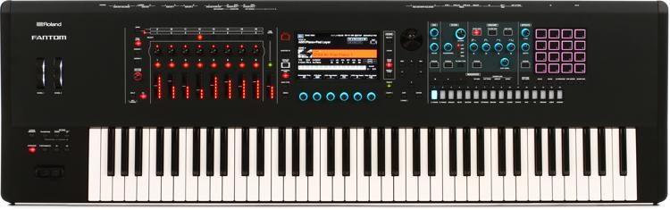Roland FANTOM-7 Music Workstation Keyboard | Sweetwater