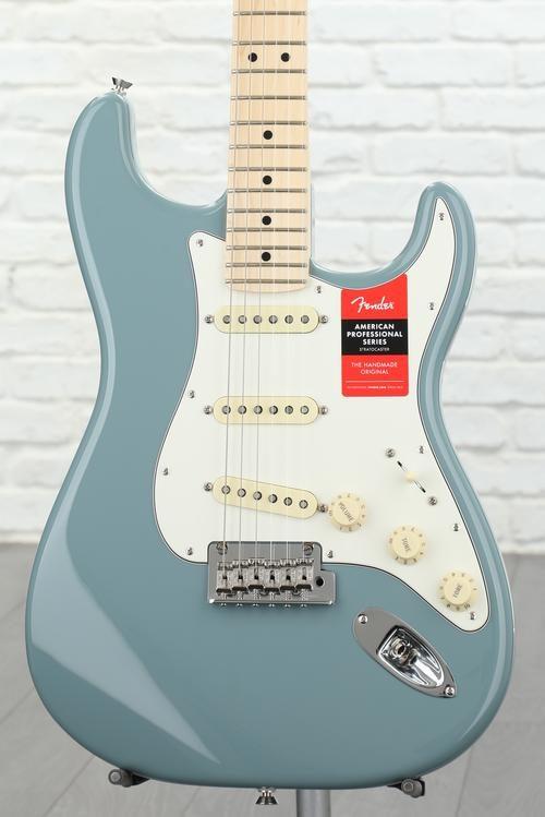 Fender American Professional Stratocaster - Sonic Gray w/ Maple ...