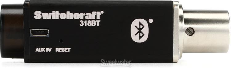 Switchcraft 318BT Phantom-Powered Bluetooth Audio Receiver