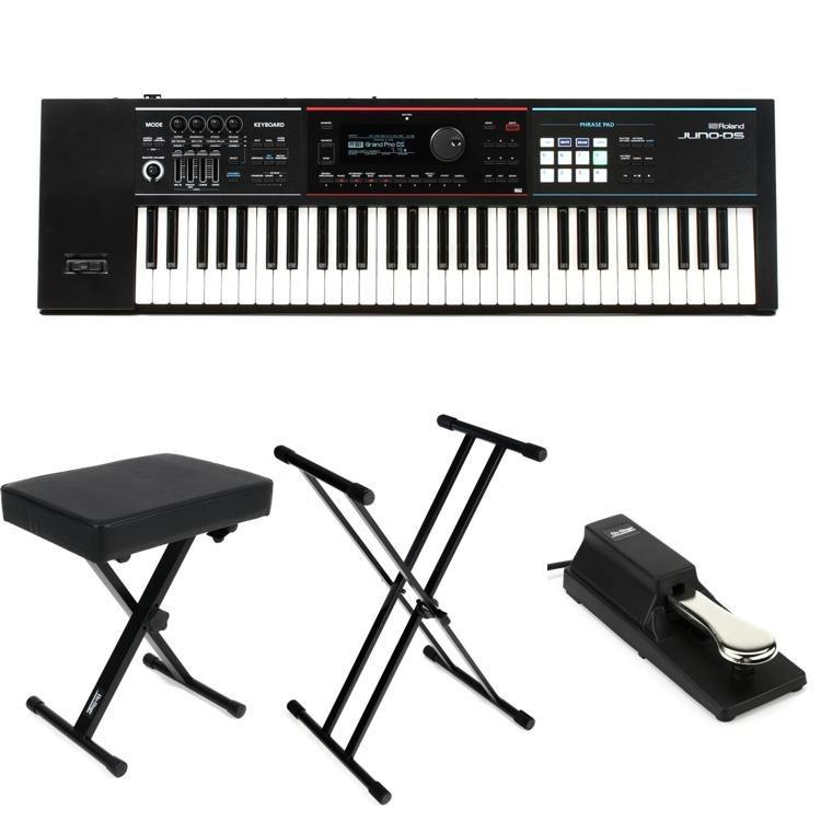 JUNO-DS61 Essential Keyboard Bundle