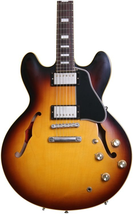 gibson memphis 1963 es 335 td 2014 historic burst sweetwater rh sweetwater com