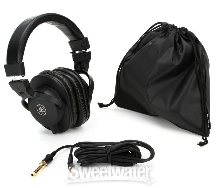 Yamaha Hph Mt5 Over Ear Headphones Black Sweetwater
