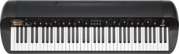 SV-1 73 Stage Vintage Piano - Black