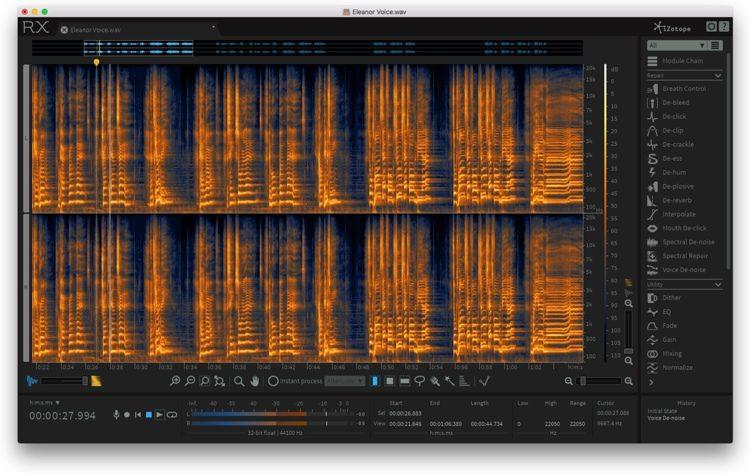 RX 6 Audio Editor - Academic Version