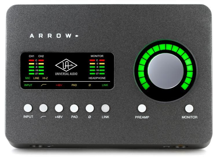 Arrow 2x4 Thunderbolt 3 Audio Interface with UAD DSP