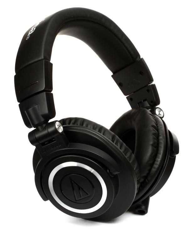 Audio Technica ATH M50x Closed Back Studio Monitoring Headphones