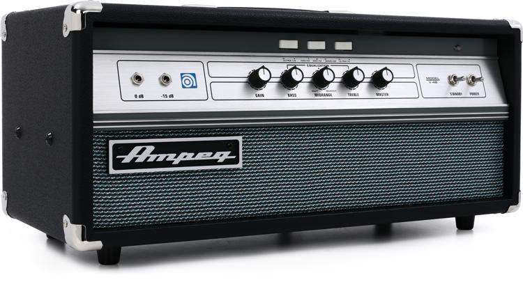 ampeg v 4b 100 watt tube bass head sweetwater rh sweetwater com Fender 2X12 Ampeg 8X10
