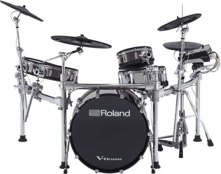 Roland V Drums Td 50kvx 5 Piece Electronic Drum Set With 22 Bass