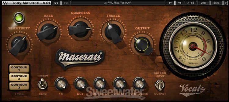 Waves Maserati Vx1 Vocal Enhancer Plug In Sweetwater