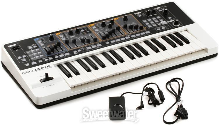 Roland Gaia Sh 01 Virtual Analog Synthesizer Sweetwater