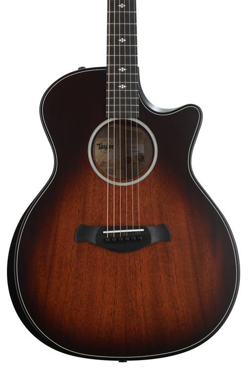 Taylor 324ce Builder S Edition Acoustic Electric Guitar Shaded Edgeburst Sweetwater