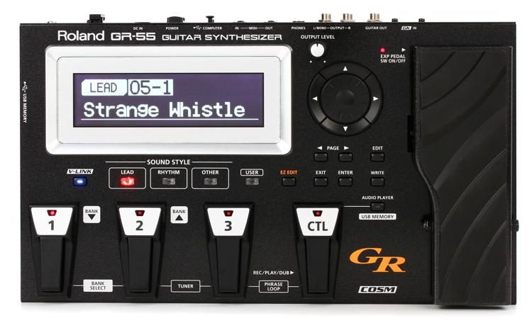 GR-55 Guitar Synth (GK-3 Pickup not included)