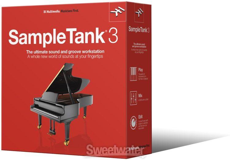 IK Multimedia SampleTank 3 (boxed) | Sweetwater