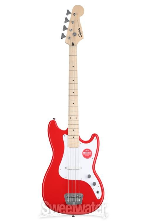 Squier Bronco B - Torino Red | Sweetwater on