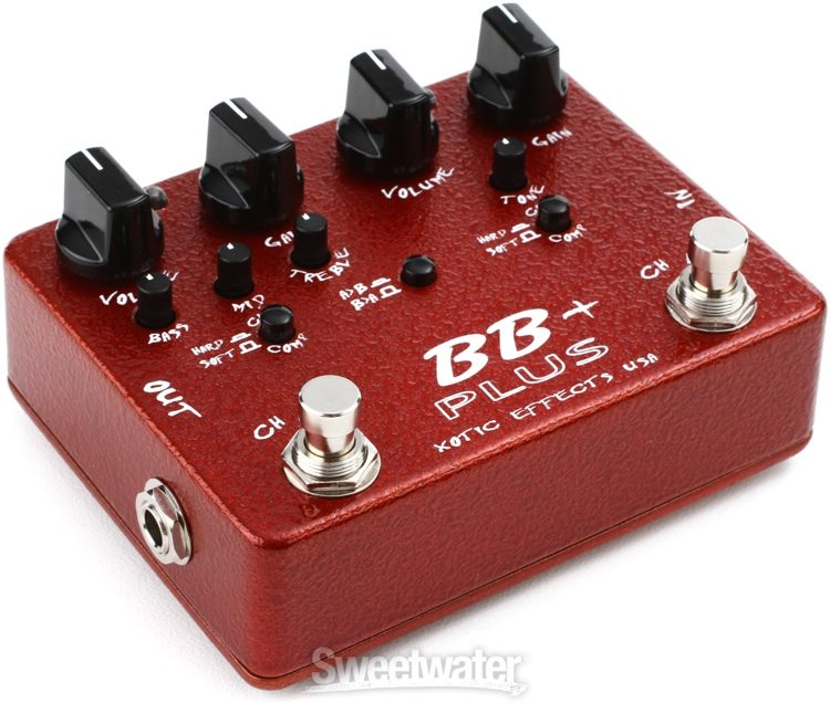 Xotic BB Plus Preamp and Boost Pedal | Sweeer on