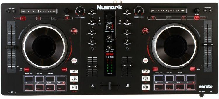 Mixtrack Platinum 4-channel DJ Controller