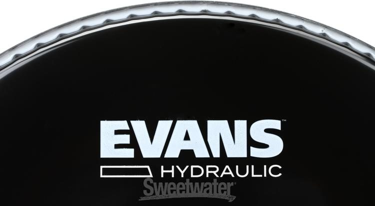 "TT10HBG Evans Hydraulic Black 10/"" Tom Batter"