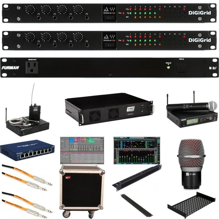 SoundGrid Server One - Portable FOH System