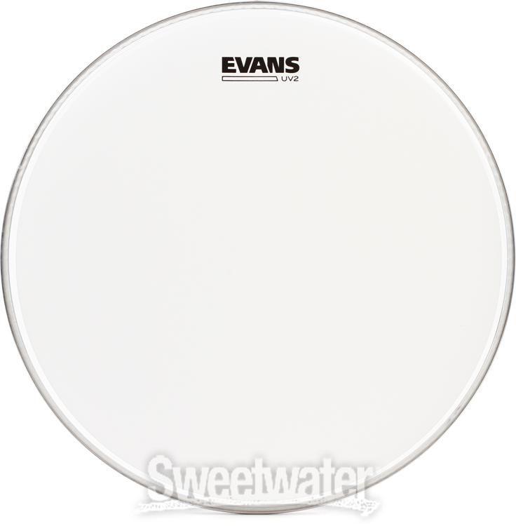 """Evans UV2 Coated Tom Drum Head Pack 10/"""", 12/"""", 16/"""" ROCK ETP-UV2-R"""