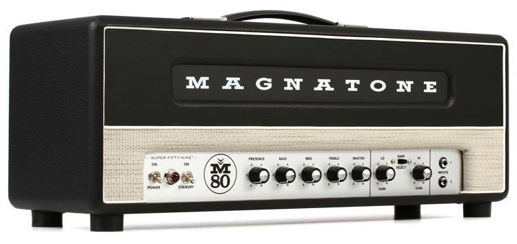 magnatone super fifty-nine m-80 - 45-watt tube head image 1