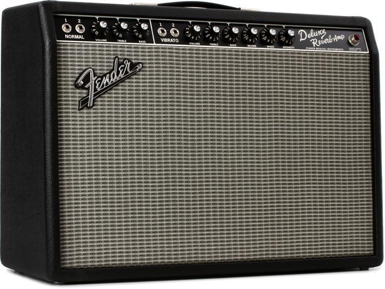 Fender 65 Deluxe Reverb 22 Watt 1x12 Tube Combo Amp