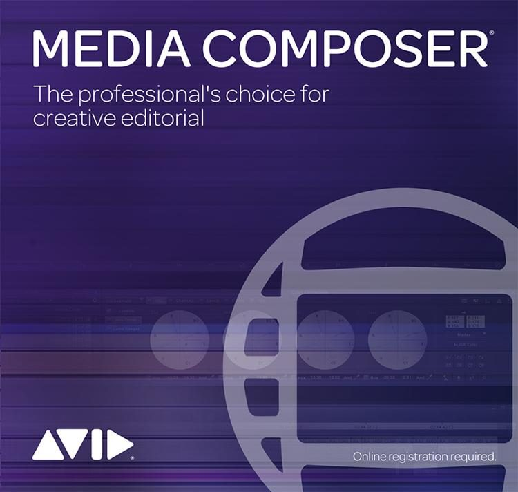 Media Composer Software - Academic Perpetual License