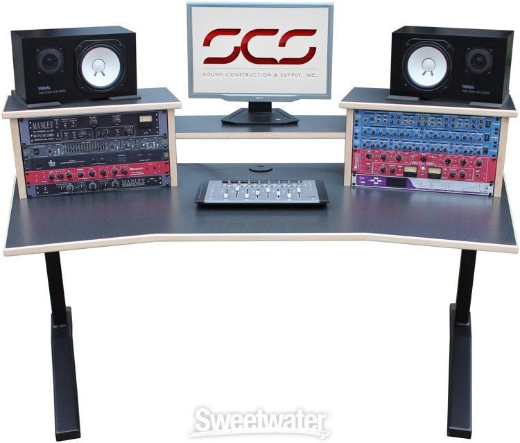 Verrassend Sound Construction DS-HS/W DigiStation Home Studio Desk | Sweetwater QW-57