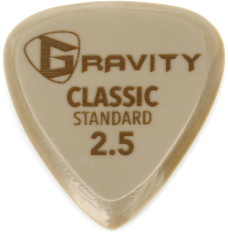 Gravity Picks Gold Classic Standard 25mm Sweetwater