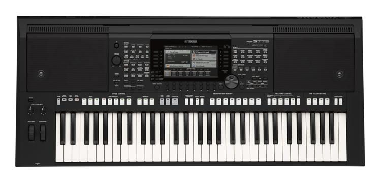 yamaha psrs775 61 key arranger workstation sweetwater rh sweetwater com