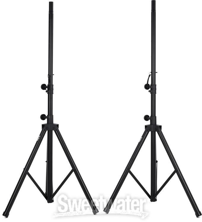 On-Stage SSP7950 Aluminum Speaker Stand Pak w// Bag