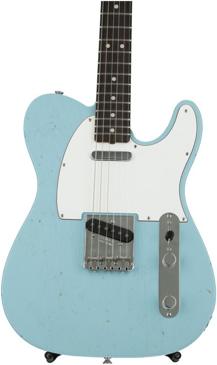 Fender custom shop 1963 journeyman closet classic telecaster fender custom shop 1963 journeyman closet classic telecaster daphne blue image 1 publicscrutiny Gallery