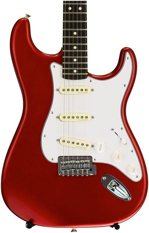 Fender Vintage Noiseless Strat Pickups Accessories >> Standard Stratocaster With Vintage Noiseless Pickups Candy Apple Red Rosewood