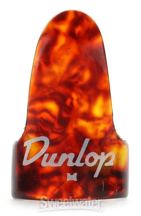 9032R Dunlop Clear Finger Pick,Medium Bag of 12