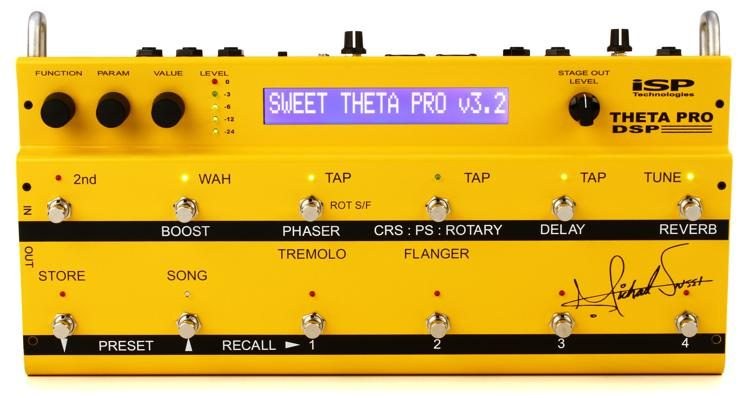 MS Theta Pro DSP Michael Sweet Preamp and Multi-effects Pedal