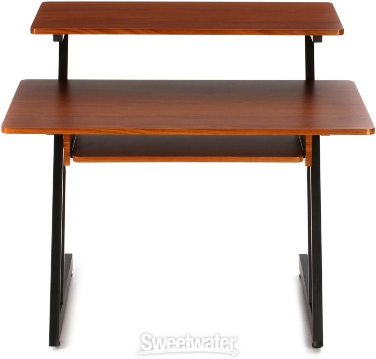 On Stage Stands Ws7500 Wooden Workstation Rosewood