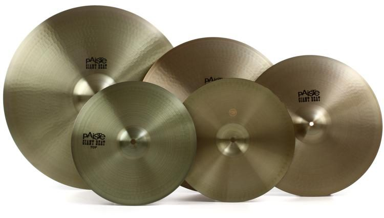 Giant Beat Cymbal Pack with Free 18