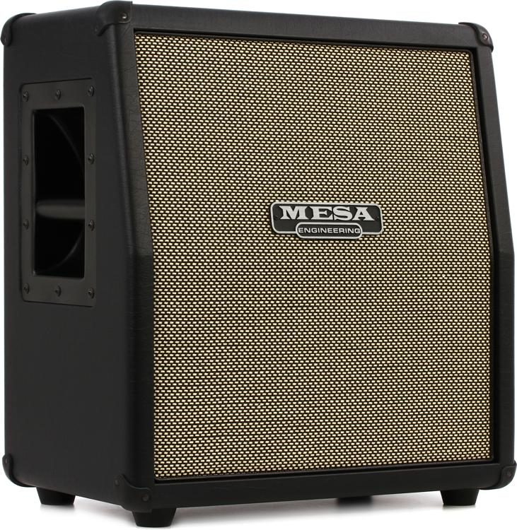 Mesa Boogie Mini Rectifier 1x12 60 Watt Angled Extension Cabinet Black W